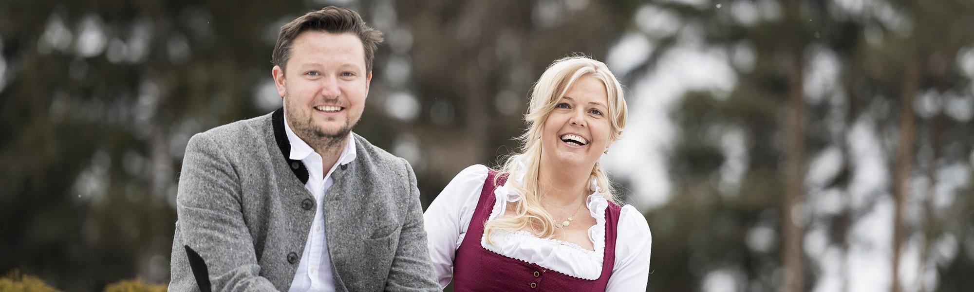 Proprietari Gnollhof Margit e Peter Verginer